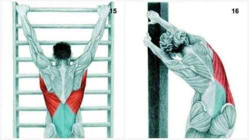 stretch av lats - stretcha ryggen